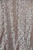 Champagne Glitz Mesh Sequins Tablecloths Tablecloths