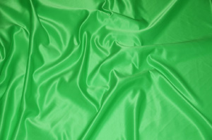 Dark Green L'Amour Satin Table Overlays Overlays
