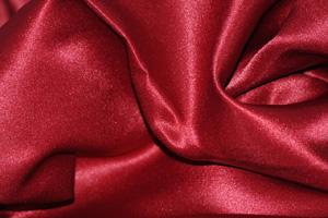 Cranberry L'Amour Satin Tablecloths Tablecloths