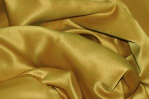 Dark Gold L'Amour Satin Table Overlays Overlays