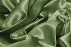 Dark Sage L'Amour Satin Tablecloths Tablecloths