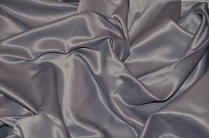 Medium Gray L'Amour Satin Table Overlays Overlays