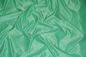 Mint L'Amour Satin Tablecloths Tablecloths