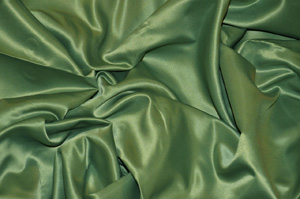 Sage L'Amour Satin Tablecloths Tablecloths