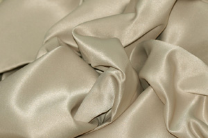 Sand L'Amour Satin Tablecloths Tablecloths