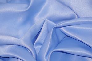 Sky Blue L'Amour Satin Tablecloths Tablecloths