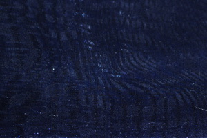 Navy Blue Mirror Organza Chair Sashes Sashes & Ties