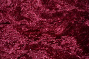 Burgundy Panne Velvet Table Drapes Table Drapes