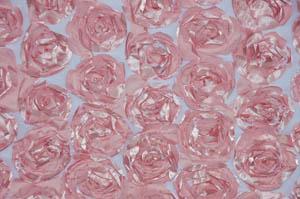 Mauve Rosette Satin Bordeaux Tablecloths Tablecloths