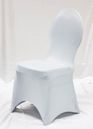 Silver Spandex Chair Cover Ballroom Banquet Chair Covers Ballroom and Banquet Chair Covers