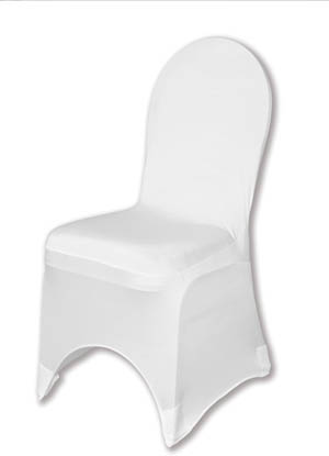 White Spandex Chair Cover Ballroom Banquet Chair Covers Ballroom and Banquet Chair Covers
