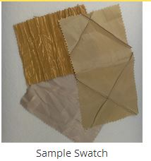 Quilted Polyester Lining Fabric Sample Swatch fabric-swatches