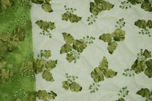 Olive Applique Organza Chiavari Chair Caps Chiavari Chair Caps