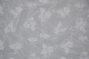White Applique Organza Table Overlays Overlays