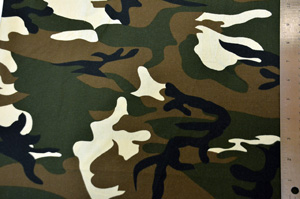 Army Camouflage Cotton Yards Yards