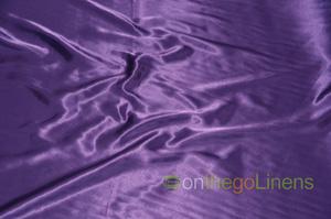 Light Purple Charmeuse Satin Chair Cover Pillowcases Universal Pillowcases
