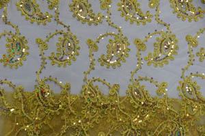 Gold Coco Paisley Chiavari Chair Jackets Chiavari Chair Jackets