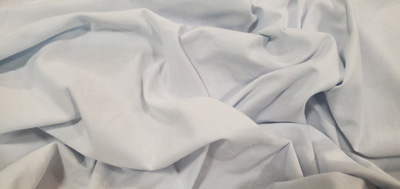 Cotton Spandex Jersey White Yards Yards