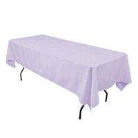 Lavender 60X108 Economic Visa Polyester Style Tablecloths Tablecloths