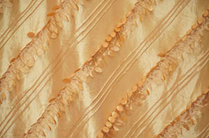 Gold Forest Taffeta Table Drapes Table Drapes