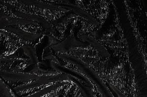 Black Iridescent Crush Table Drapes Table Drapes