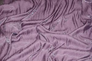 Dark Lilac Iridescent Crush Table Drapes Table Drapes