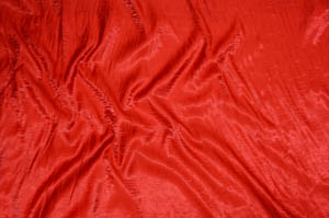 Red Iridescent Crush Table Drapes Table Drapes