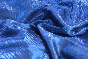 Royal Blue Iridescent Crush Table Drapes Table Drapes