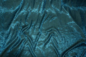 Teal Iridescent Crush Table Drapes Table Drapes