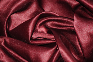 Burgundy L'Amour Satin Folding Chair Covers Folding Chair Covers