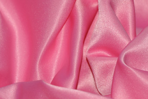Candy Pink L'Amour Satin Table Overlays Overlays