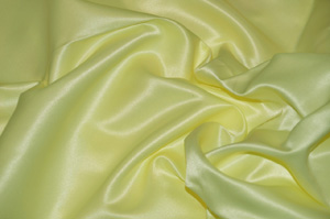 Light Yellow L'Amour Satin Ballroom Banquet Chair Covers Ballroom and Banquet Chair Covers
