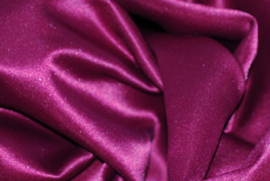 Magenta L'Amour Satin Table Runners Table Runners