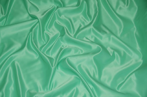 Mint L'Amour Satin Table Overlays Overlays