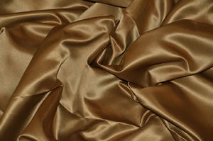 Mocha L'Amour Satin Tablecloths Tablecloths