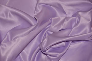 Pale Lavender L'Amour Satin Table Overlays Overlays