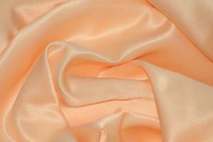 Peach L'Amour Satin Table Overlays Overlays