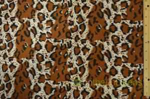 Large Cheetah Cotton Print Yards Yards