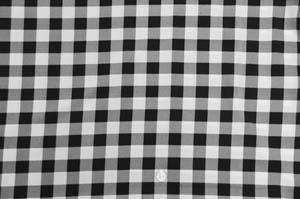 Black Poly Picnic Checkers Table Drapes Table Drapes