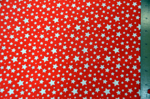 Red Star Cotton Fabric Yards Yards