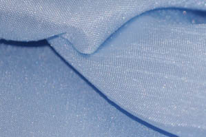 Baby Blue Shantugn Satin Chair Cover Pillowcases Universal Pillowcases