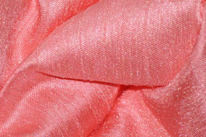 Coral Shantugn Satin Chair Cover Pillowcases Universal Pillowcases