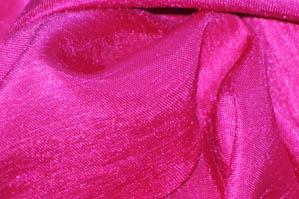 Hot Pink Shantugn Satin Chair Cover Pillowcases Universal Pillowcases