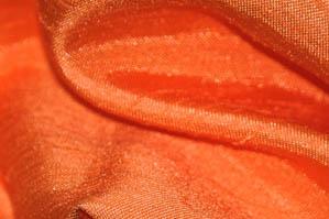Orange Shantugn Satin Chair Cover Pillowcases Universal Pillowcases