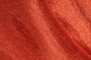 Rust Shantugn Satin Chair Cover Pillowcases Universal Pillowcases