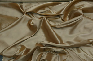 Brush Gold Solid Taffeta Table Drapes Table Drapes