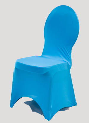 Turquoise Spandex Chair Cover Ballroom Banquet Chair Covers Ballroom and Banquet Chair Covers