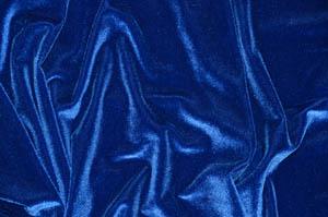 Royal Blue Spandex Stretch Velvet Pipe and Drape Panels Curtains & Drapes