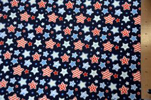 Star Spangle Cotton Yards Yards