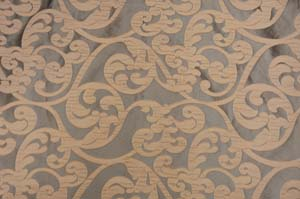 Chocolate Victorian Damask Table Drapes Table Drapes